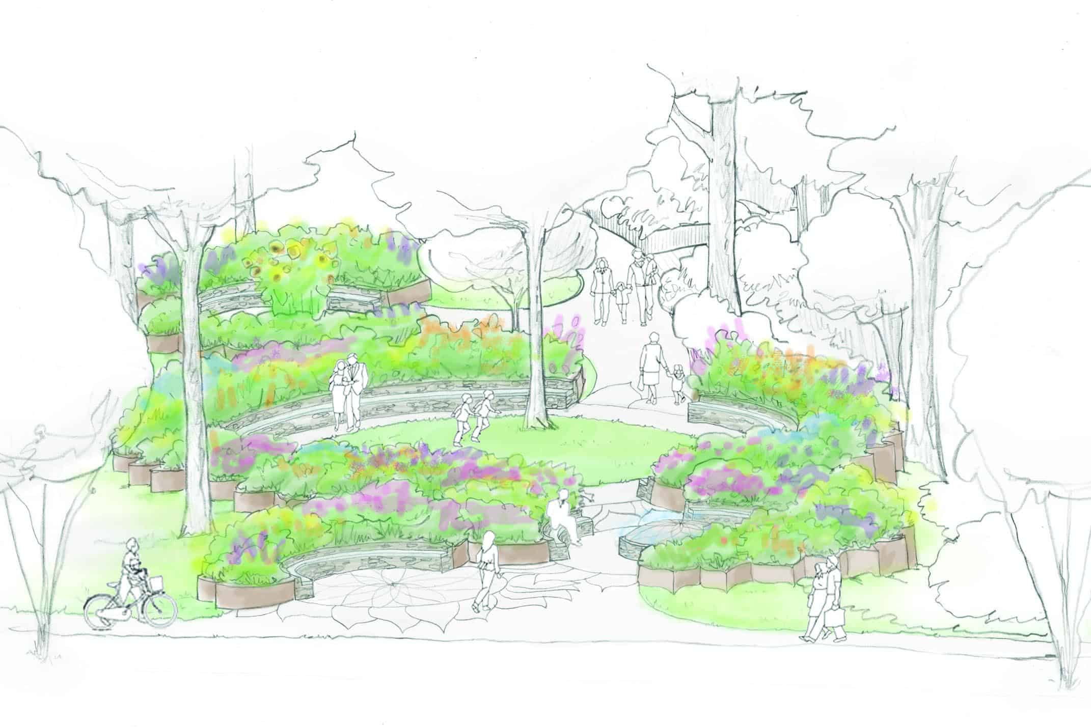 Landscape Design for a Greenville, SC, Public Park: Part Two