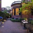 Beacon Hill garden, evening. Design by JMMDS. Photo by Thomas Linger.
