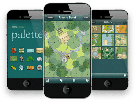 Home Outside Palette App